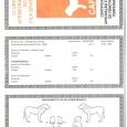Certifikát o splnení podmienok bonitácie fenotypu a temperamentu, CAFIB